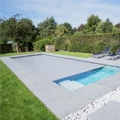 Two finishes for these 13 models of monocoque pools from LPW