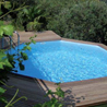 Wood swimming pools
