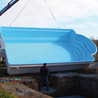 Acrylic shell swimming pools
