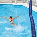 A mechanical apparatus for swim training