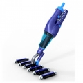 Patented hand operated vacuum cleaners for pool and spa