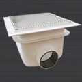 AquaMatic high flow main drains and grilles for commercial swimming pools