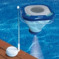 Floating music-player  for the pool