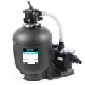 Sand filter systems: Cristal-Flo filter combined with FreeFlo Pump