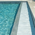 Stardeck cover available for high water level pools