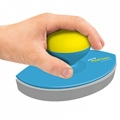 The magic eraser is fitted with an ergonomic handle