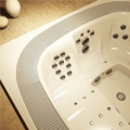 The new professional Jacuzzi spa with progressive hydro-massage