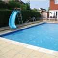 Pool covers using GeoBubble™ technology provide optimal performance