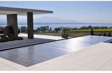 Super resistant, anti-UV pool cover slats by Ocea