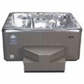 New Beachcomber metallic finish hot tub