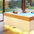 New hot tubs Wave and Sunset with a complete hydromassage circuit