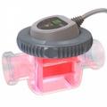 The new luminous salt chlorinator for swimming pools