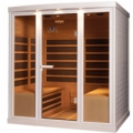 New range of saunas  with infra panels