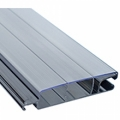 New anti-UV and anti-algae solar polycarbonate slats