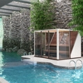 Four brand new sauna designs