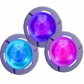 Small led lights for coloured shows in the pool