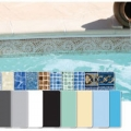Quality and high standard for these swimming  pool liners and covers