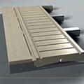 The innovative Poolstones drain grating