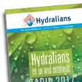 The HYDRALIANS products, all presented in its 2017 catalogue