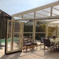 An exceptionally modular patio cover