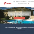 A brand new website for KAWANA and its chlorinator cells!