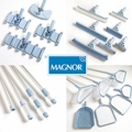 A full range of pool and spa care equipment