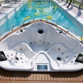 Yacht pool takes luxury to its extreme