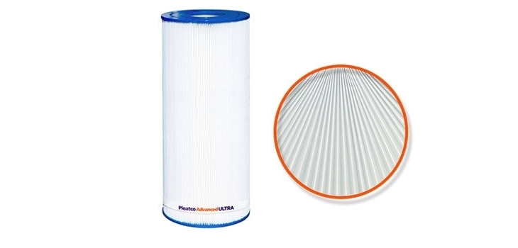 Pleatco Advanced Ultra filter cartridge
