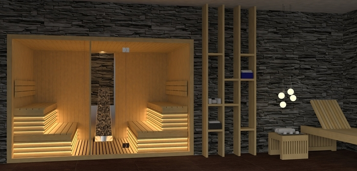 sauna,sec,finlandais,tradition,nordique,commande,digitale