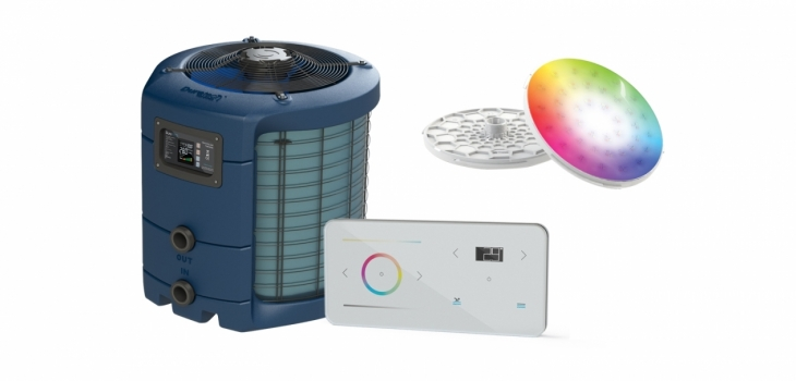 Dura VI heat pump LinkTouch unit spectra pool projector connected Propulsion system