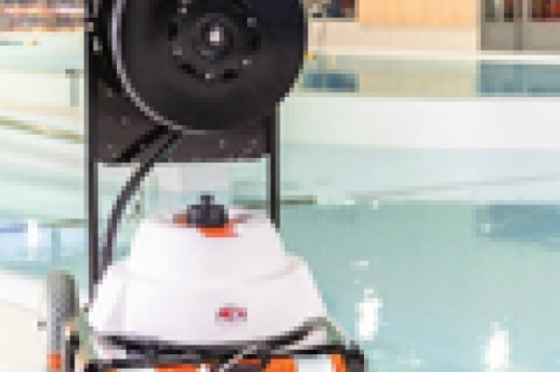 hexagone,robot,piscina,video,camera