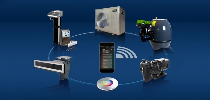 smart,pool,iqnnect,control,equipments,application,loxone,smart,home,peraqua,keepintouch