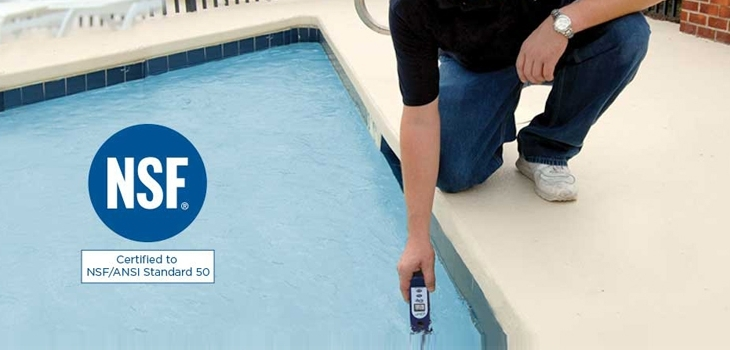 pool water test quality Pool Photometer eXact® certification NSF 50 MAHC