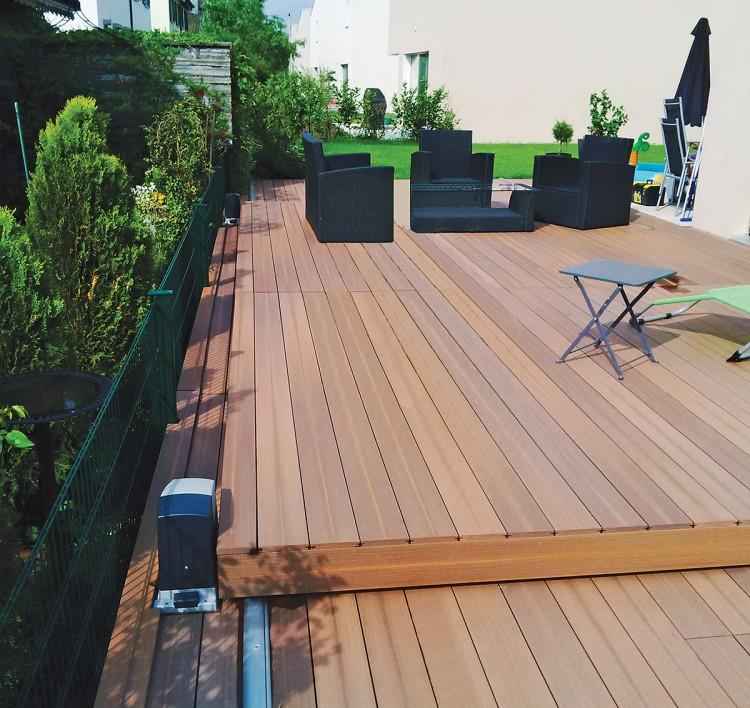 La Terrasse Mobile Pour Piscine Walu Deck De Walter