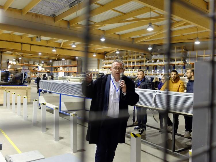 Visite usine Sofatec 16e séminaire Mondial Piscine 2020
