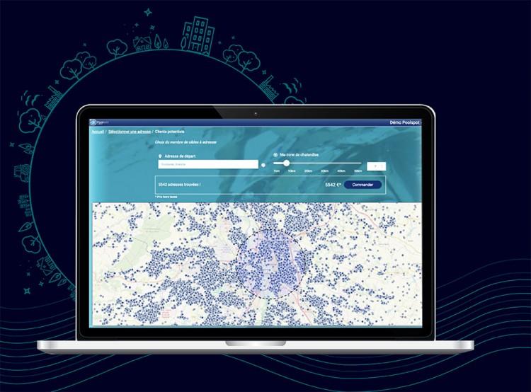 visualisation marché piscine prediction analyse application web Poolspot Pixstart