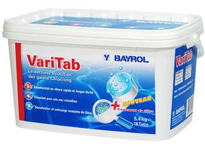 nouveau conditionnement Varitab 5,4kg