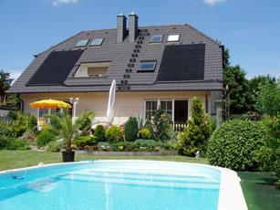 Un capteur thermo solaire haut rendement calorique pour for Chauffer sa piscine au solaire