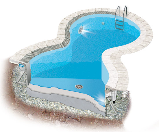 Steelflex And Pool S Prefabricated Swimming Pools