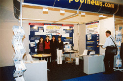 Stand Eurospapoolnews Barcelone 2001