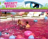 Ma piscine un tube de l t haut en couleurs for Aquacouleur piscine