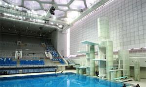 Aquacube la piscine de demain for Chauffage piscine olympique