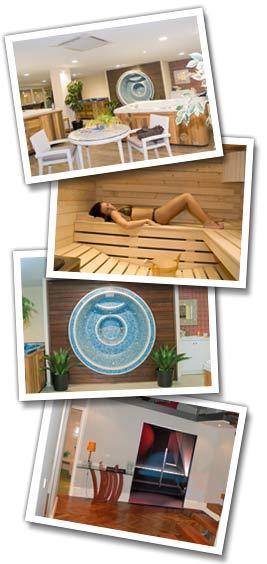 nouveau showroom de spas et cabines de sauna clair azur antibes. Black Bedroom Furniture Sets. Home Design Ideas