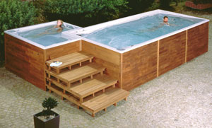 swim spa XL - Combi spa USSPA
