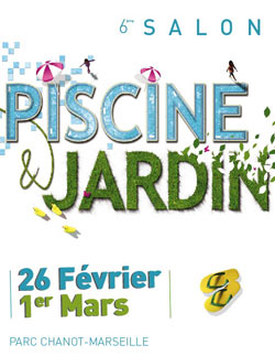 6 me dition du salon piscine et jardin de marseille for Piscine 6eme