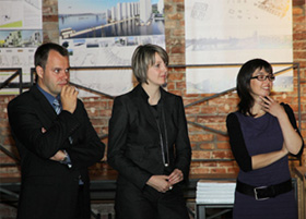 USSPA supports young architects - Kadlec, Kadlecova, Kalendova