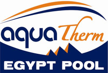 Aqua therm egypt pool logo