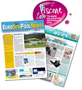 Le juste lien d'eurospapoolnews special salon de la piscine de lyon 2010