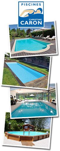 Le premier magazine europ en des professionnels de la p - Christine caron piscine ...