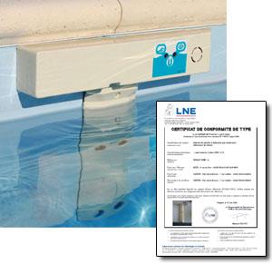 Sonar ssm 1 0 alarme de piscine sous margelle conforme for Alarme piscine sonar